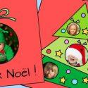 3 cartes de Noël à imprimer et à personnaliser