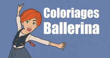 coloriage ballerina