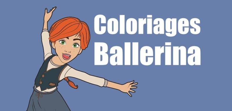 Coloriage Dessin Anime Ballerina.Coloriage Ballerina 4 Superbes Dessins A Imprimer