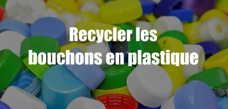 Très Recycler les bouchons en plastique avec des idées créatives KQ42
