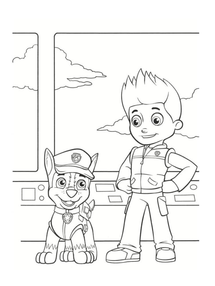 Coloriage pat patrouille 30 dessins imprimer gratuitement - Dessin de ninjago a imprimer ...
