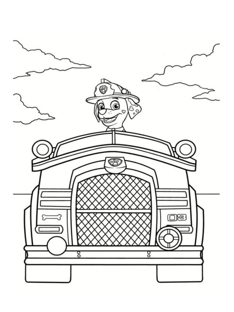Coloriage pat patrouille 30 dessins imprimer gratuitement - Dessin de pompiers a imprimer ...