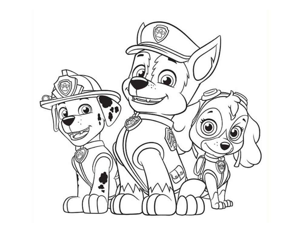 Coloriage Pat Patrouille : 30 dessins à imprimer gratuitement