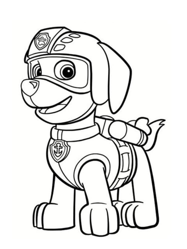 Coloriage Pat Patrouille : 30 dessins à imprimer ...