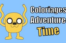 coloriage adventure time