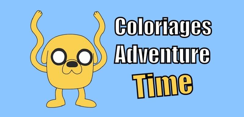 coloriage adventure time