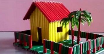 Fabriquer une maison en papier