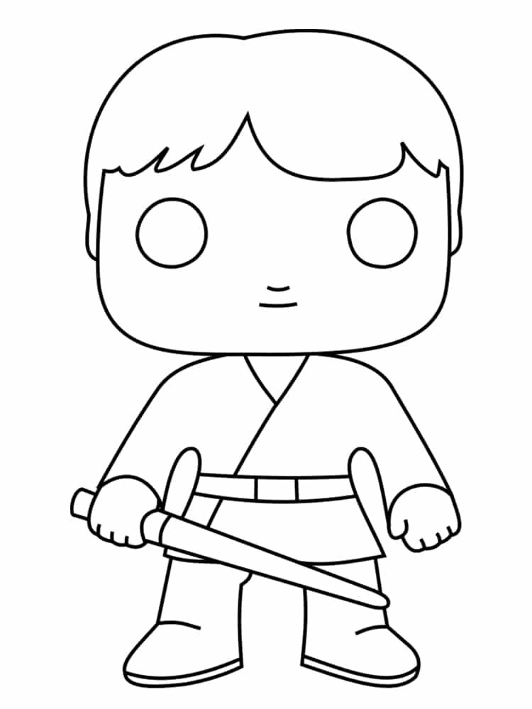 Coloriage personnage star wars 18 dessins uniques et - Dessin ane facile ...