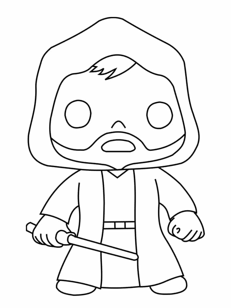 Coloriage personnage star wars : 18 dessins uniques et originaux