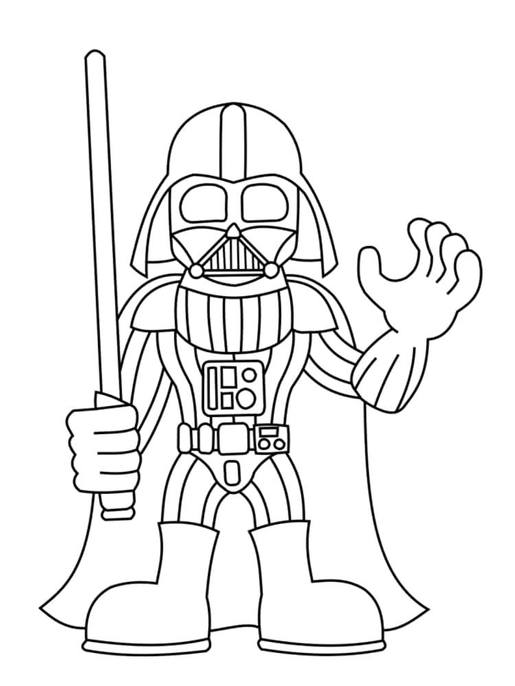 Coloriage personnage star wars 18 dessins uniques et originaux - Coloriage 0 imprimer ...
