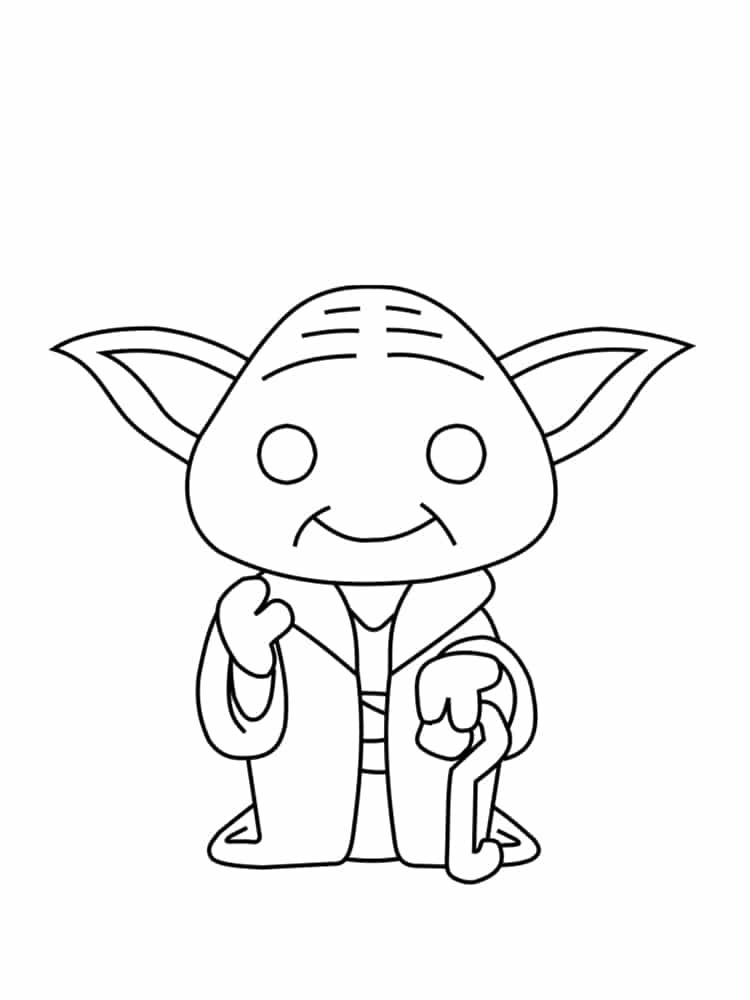Coloriage personnage star wars : 18 dessins uniques et ...