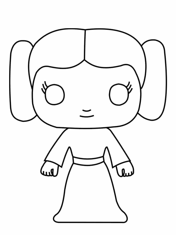 Le célèbre Coloriage personnage star wars : 18 dessins uniques et originaux ! &NF_04