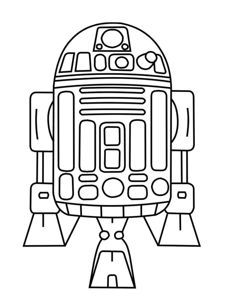 Coloriage personnage star wars 18 dessins uniques et - Coloriage image ...