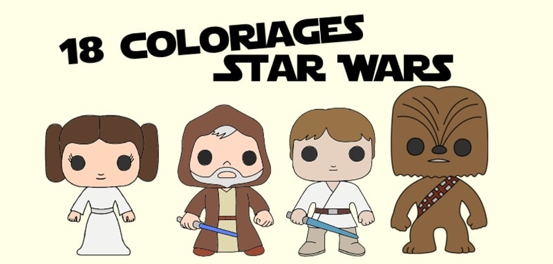 Coloriage personnage star wars