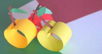 Comment faire une pomme en papier