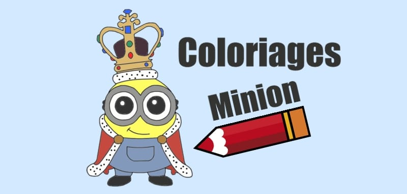Coloriage Minion Des Coloriages Exclusifs à Imprimer