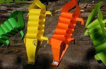 Comment faire un crocodile en papier