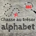 chasse alphabet