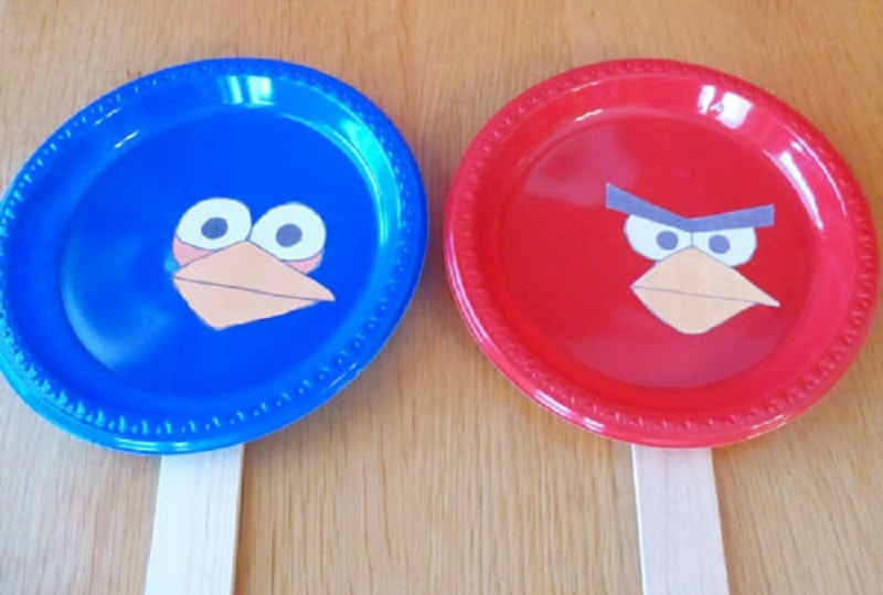 jeux ballon angry birds