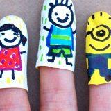Marionnettes à doigt super faciles