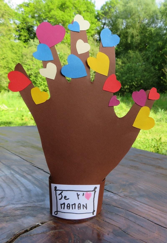 Bricolage Fête Des Mères Maternelle Larbre à Cœurs