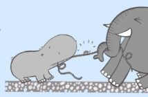 histoire enfant hippo elephant