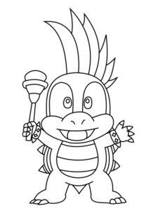 dessin de mini koopa