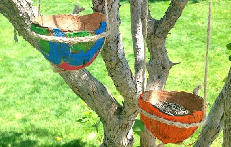 bricolage noix de coco