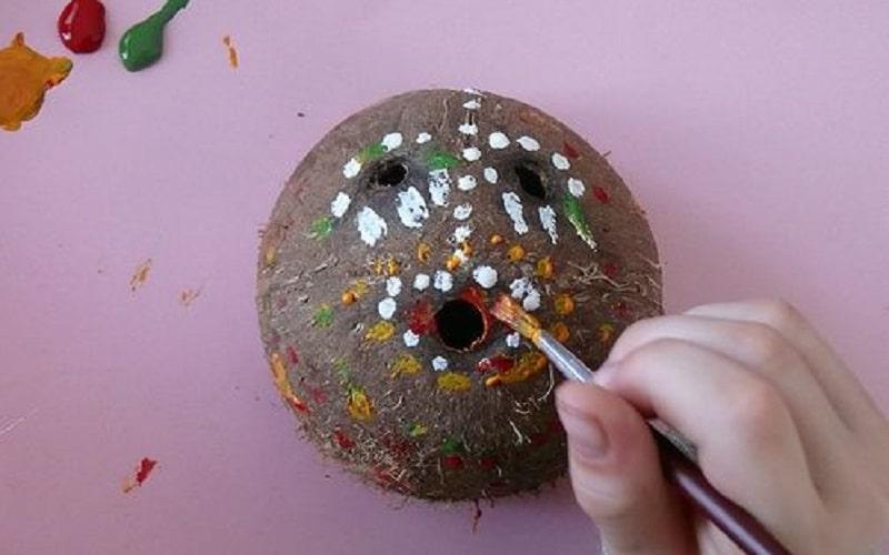 noix de coco bricolage