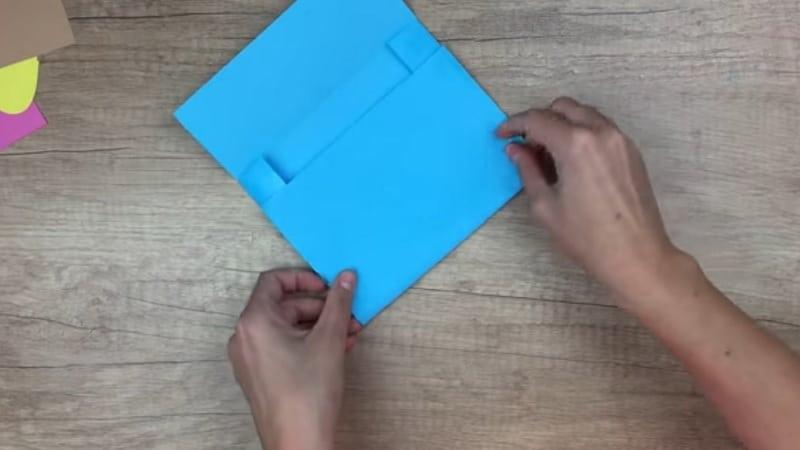 faire un cartable en papier