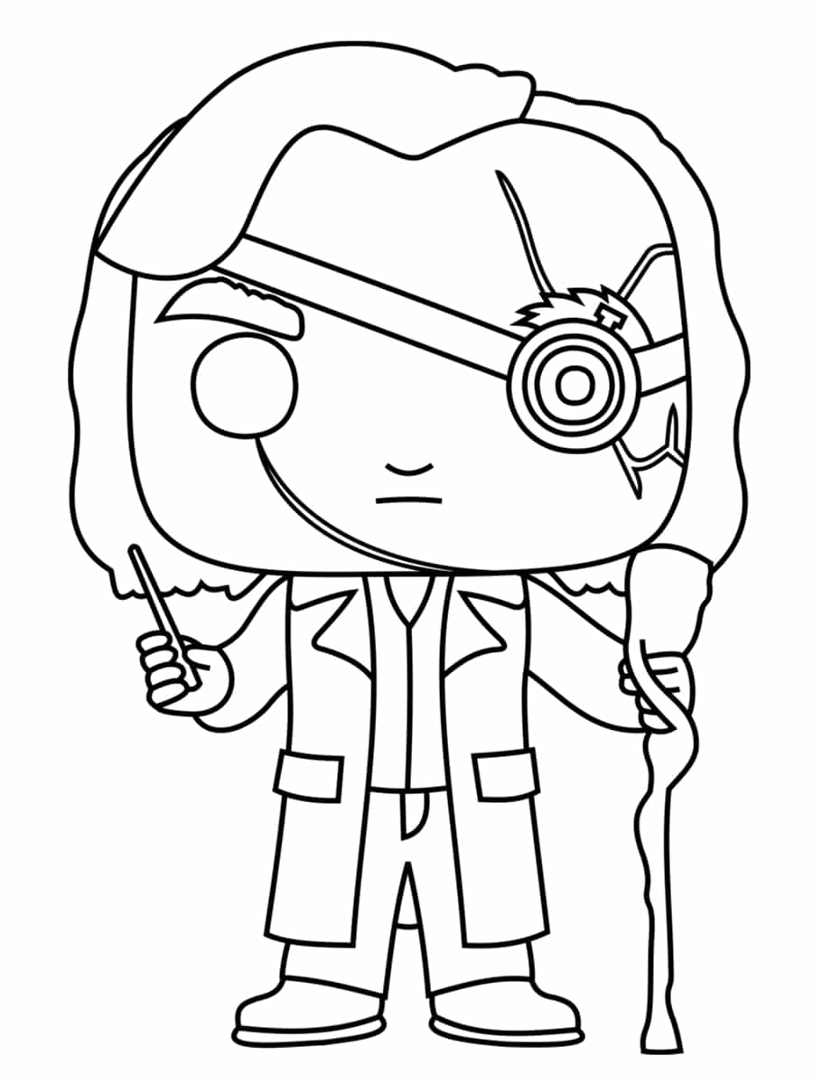 【choisi】 Coloriage Harry Potter Pop