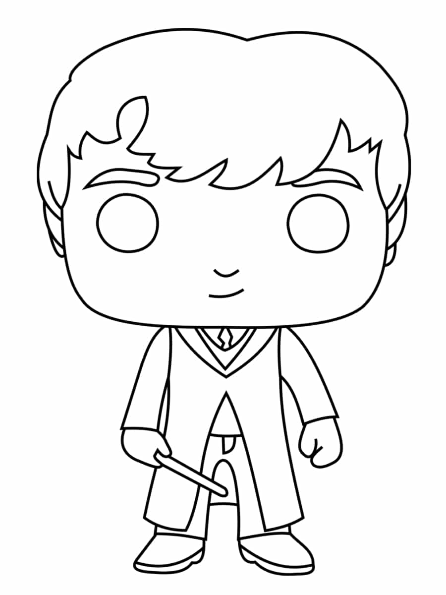 Coloriage Harry Potter Pop Coloriage Magique Addition