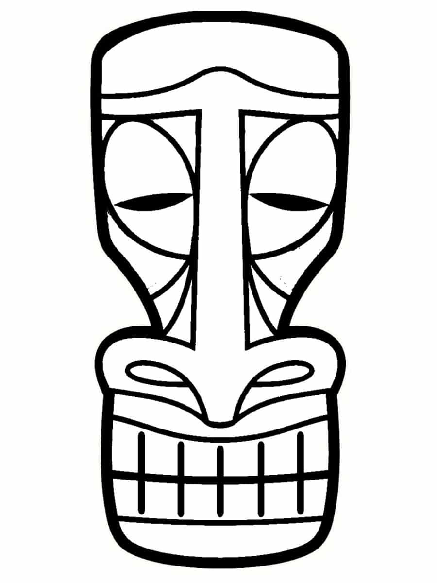 Bricolage totem koh lanta des id es simples et originales - Des images a colorier et a imprimer ...