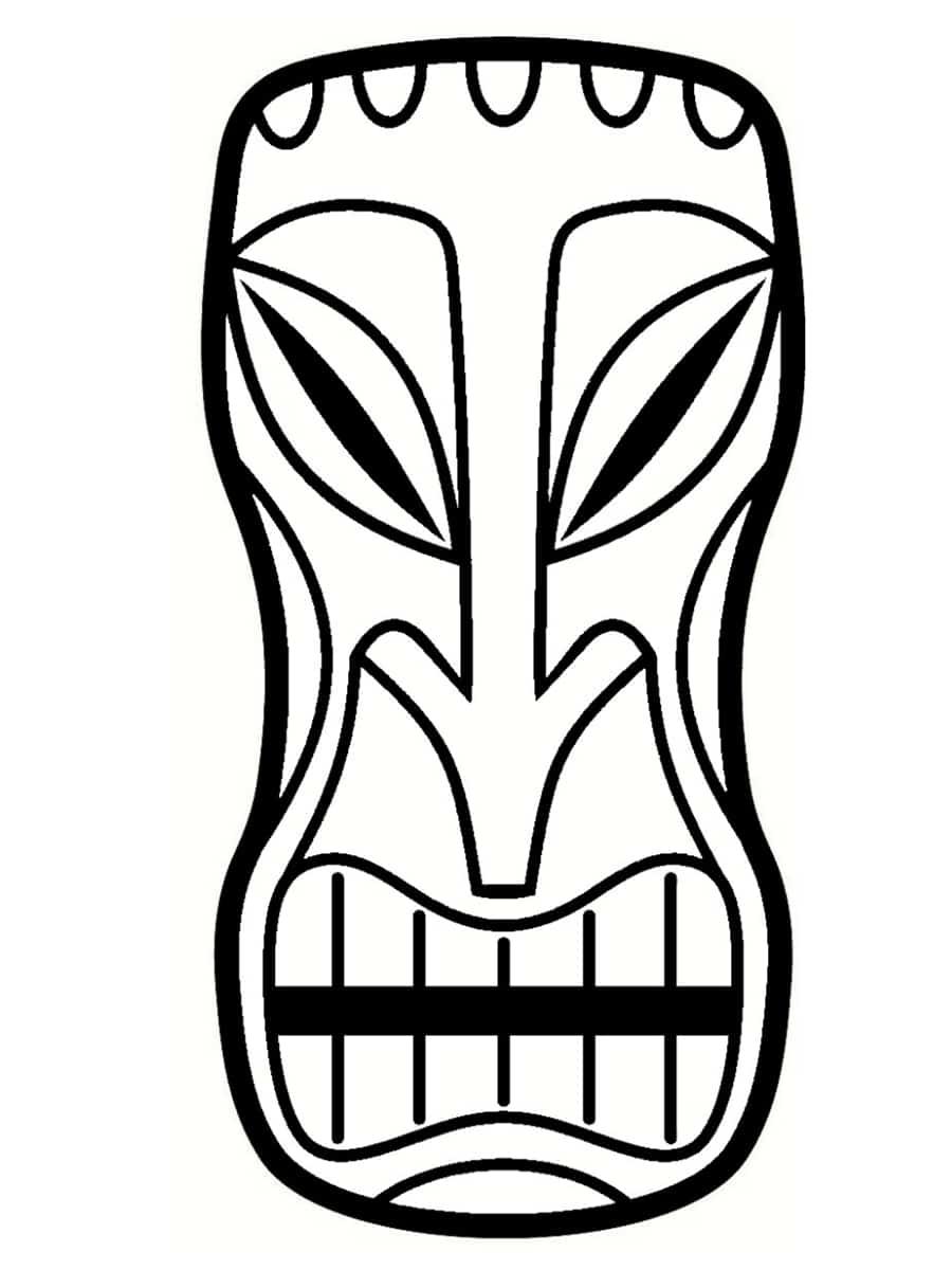 dessin de tiki