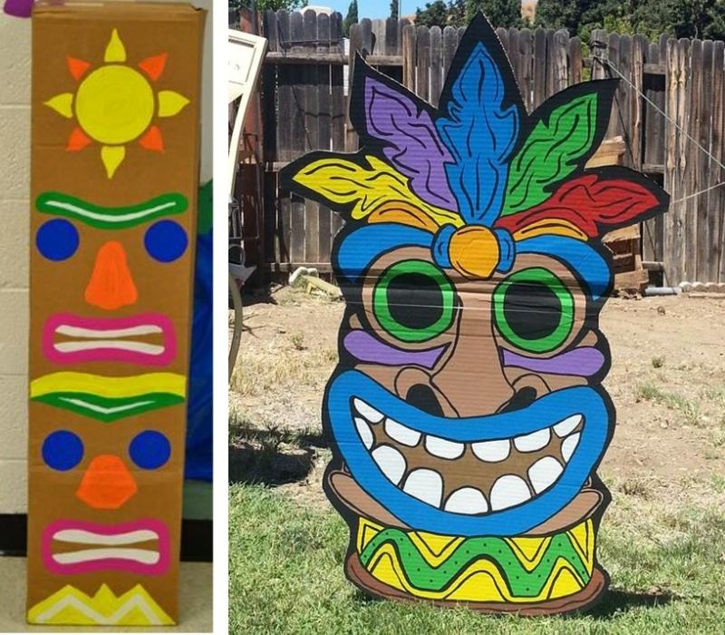 Exceptionnel Bricolage totem Koh Lanta : des idées simples et originales LN78