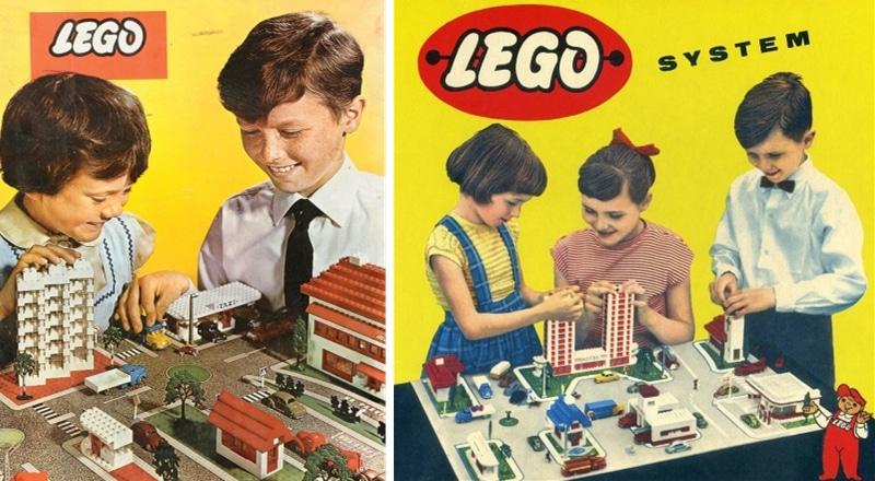 histoire du jouet lego