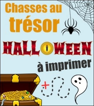 chasse au trésor halloween