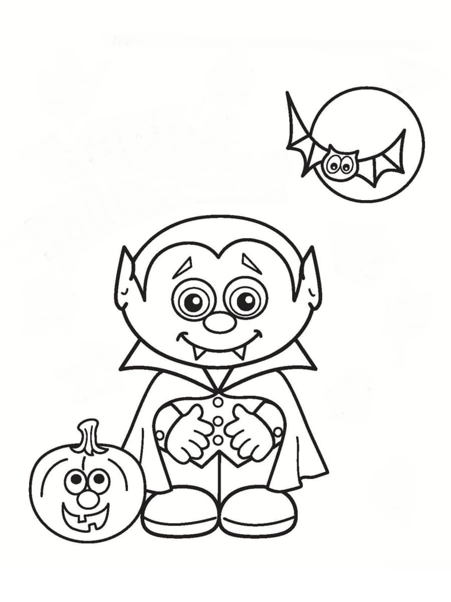 Coloriage vampire 36 dessins imprimer gratuitement - Coloriage colorier ...