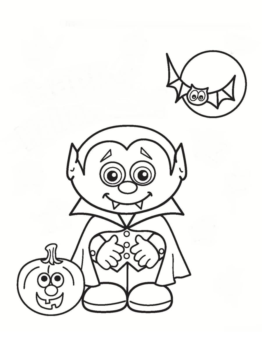 Coloriage vampire 36 dessins imprimer gratuitement - Dessin vampire a colorier ...