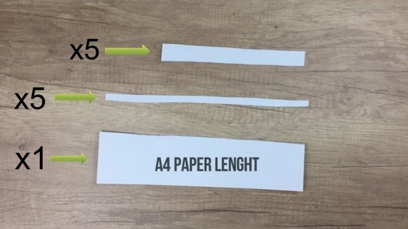 tutoriel main squelette papier