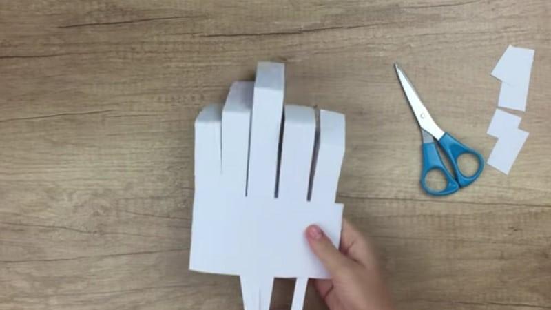 Squelette En Papier Decorer