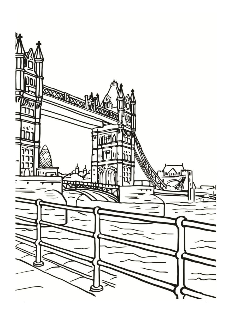 10 Coloriage A Imprimer Londres Haut Coloriage Hd Images Et