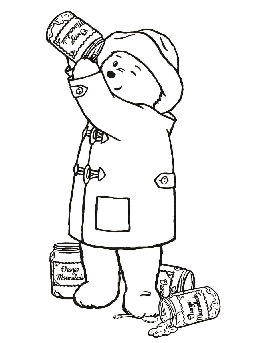 Coloriage paddington 22 dessins imprimer gratuitement - Coloriage imprime ...