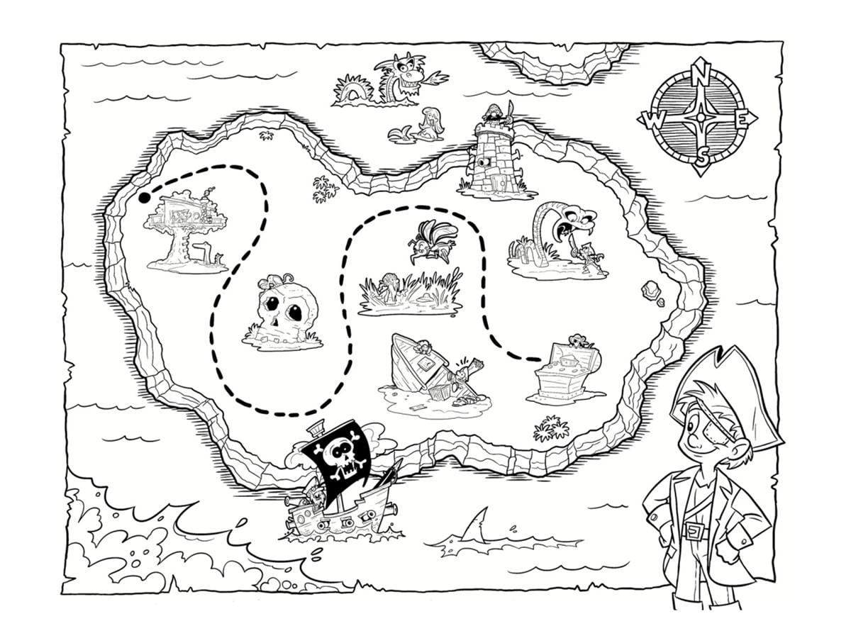 Jocker jeux de carte dessin - Coloriage tresor ...