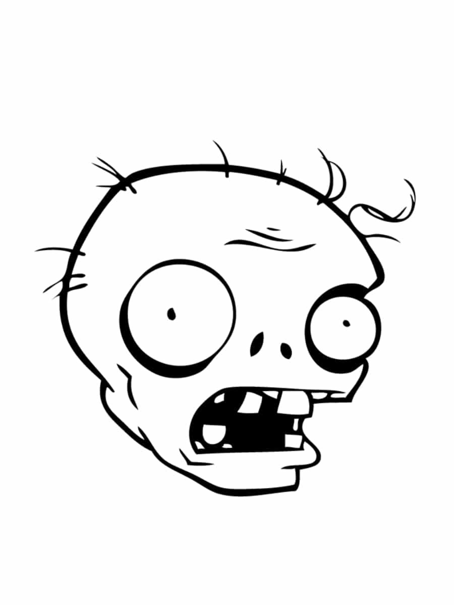 Coloriage zombie des coloriages imprimer gratuitement - Comment dessiner un zombie ...