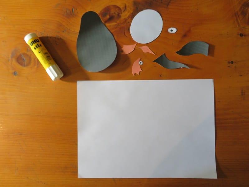 faire pingouin en papier