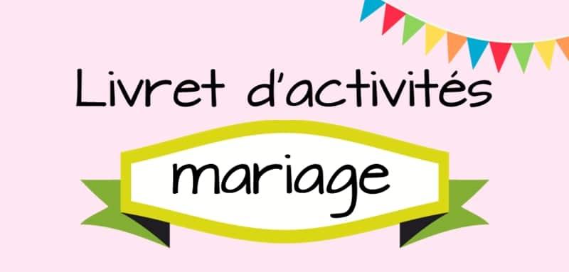 livret de mariage