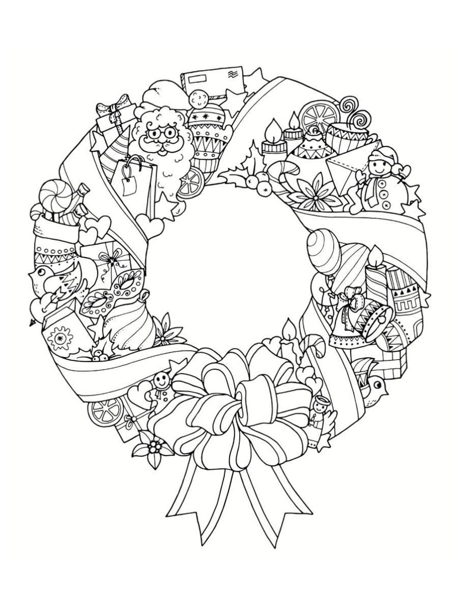 Coloriage mandala de Noël : 30 dessins à imprimer
