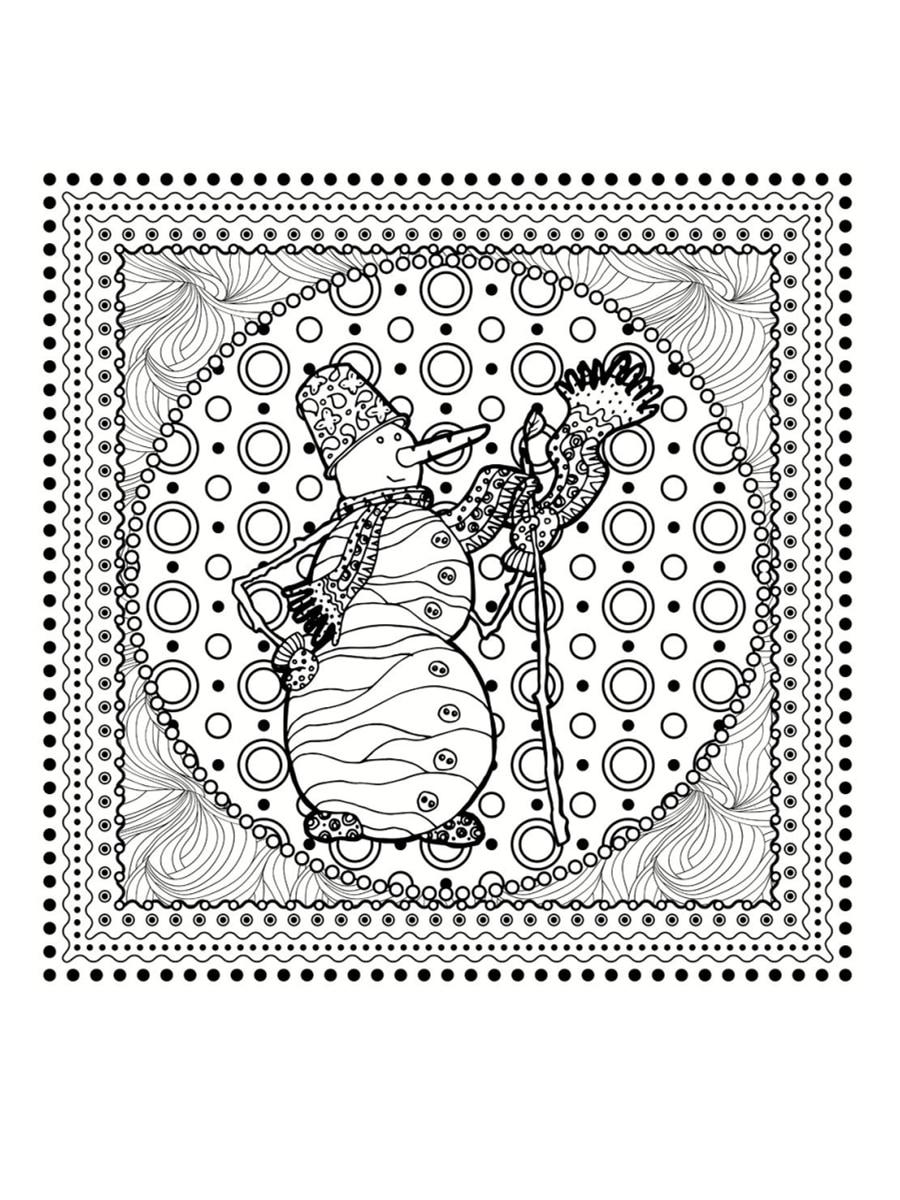 Coloriage Mandala Noel En Ligne.Coloriage Mandala De Noel 30 Dessins A Imprimer