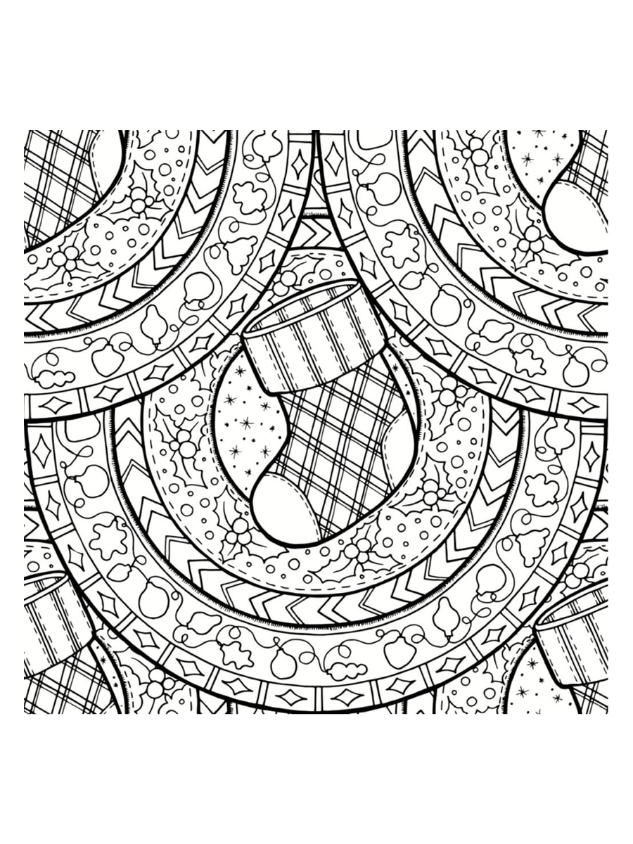 coloriage mandala de no l 30 dessins imprimer. Black Bedroom Furniture Sets. Home Design Ideas